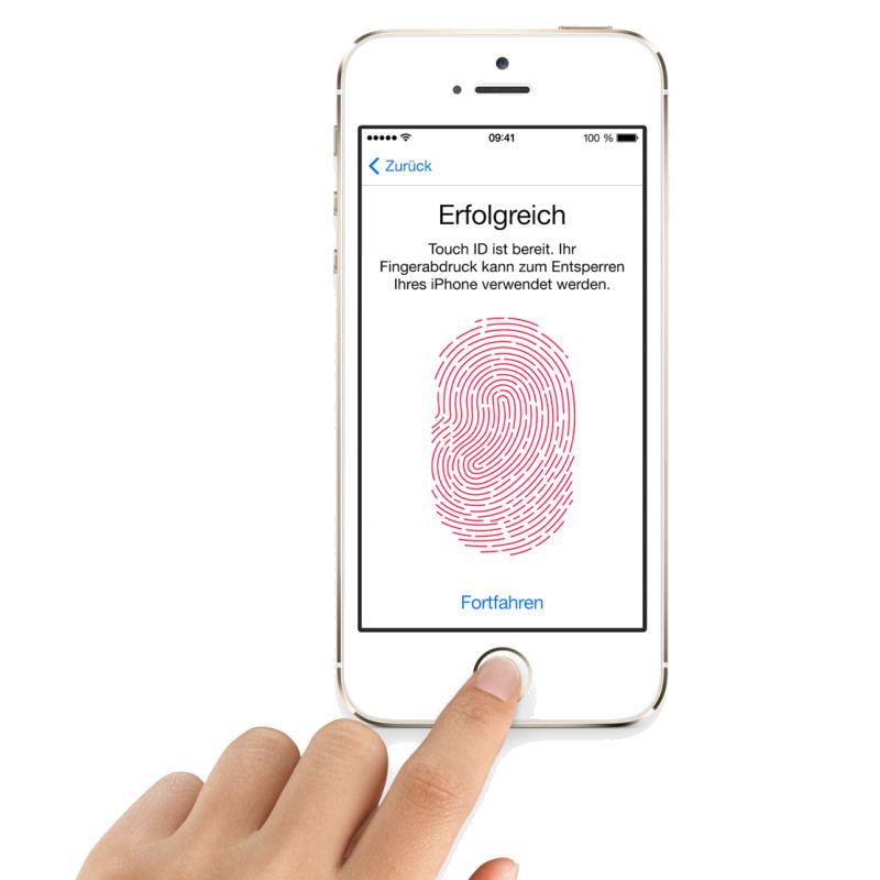 iPhone 5S Fingerabdrucksensor
